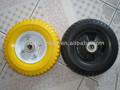 Roda de carrinho de mão, solid borracha roda de brinquedo