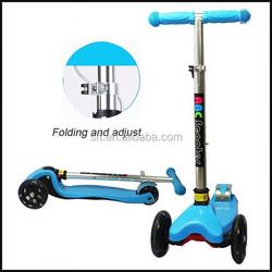 children mini kick scooter 3 wheel
