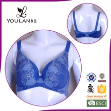 2015 Comfortable Large Size Lace Flower Sexy Hot Big Women Bra