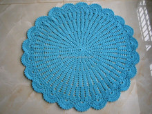Trade Assurance factory wholesale hand made crochet picnic rugs carpets
