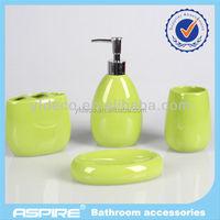 we are five 4-pc ceramic set bathroom accessories