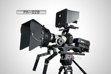 Professional dslr camera follow focus rig, matte box ,baseplate accessories