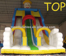 Inflatable slide with two sliding way,Inflatable Mickey and Donald slides,Water slides