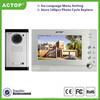 2-12 small multi apartment video door phone system,unlock,intercom,photo taking,doorbell