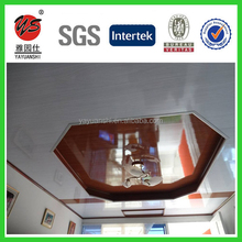 2015 new wooden cedro cielos raso de pvc decor pvc ceiling panel plastic wall panel