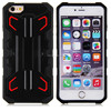 Butterfly phone case rocket PC+TPU for iphone 6 puls with holder
