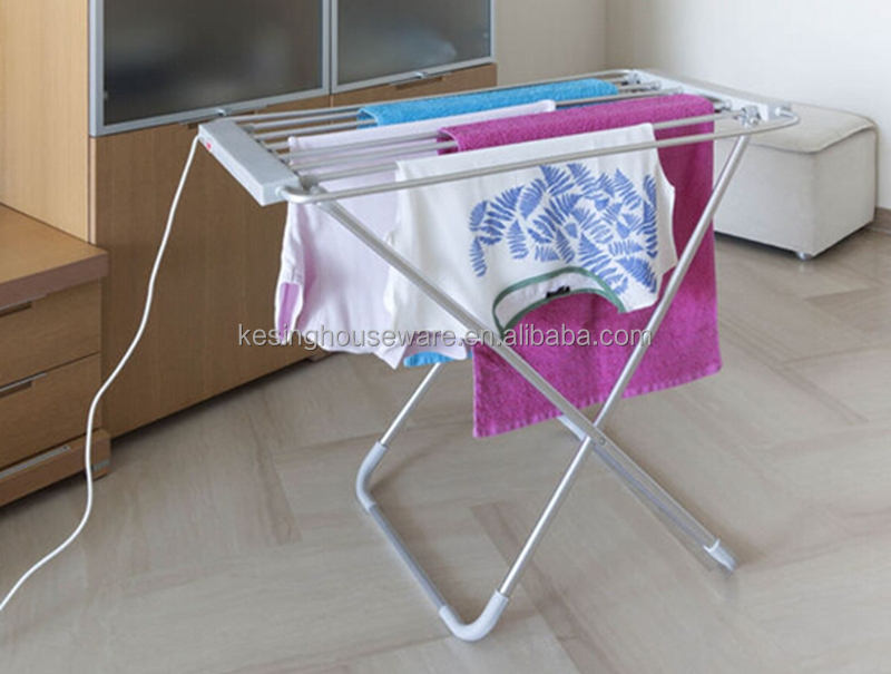 Pliante en aluminium vêtement. transat. radiateur électrique vêtements