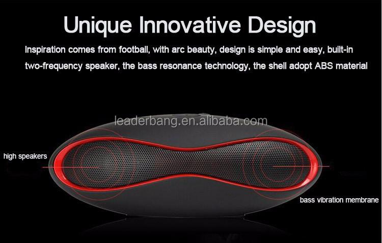 Shenzhen actif portable bluetooth haut-parleur pour voyager en plein air