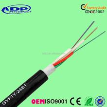 2 4 6 12 24 36 48 96 core single mode outdoor fiber optical cable 1km price