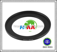 china manufacturer Camera Parts 62mm to 82mm Lens Filter Step Up Ring Adapter Black special custom service provided