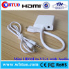 Manufacturer in Shenzhen vga to Mini HDMI cable audio support