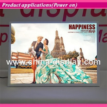 Magnetic acrylic frame desktop led lighted Competitive Price Led ad. light box