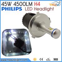 Factory direct 5200 lumen p6 led headlighting car led headlight h4 h7 h11 h13 h15 h16 hb3 hb4 9004 9012 led