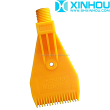 1/4'' Plastic wind jet water spray drying cleaning nozzle