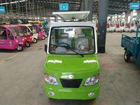 four wheel hybrid electric truck with heavy duty