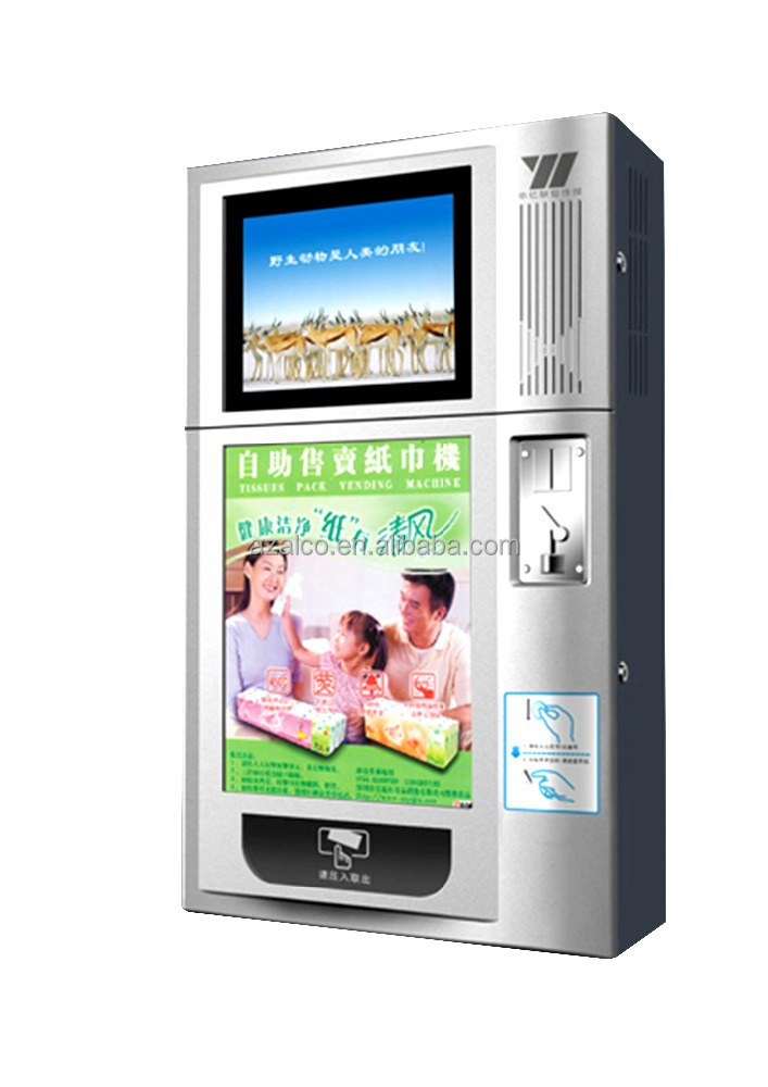 Automatic Card Reader ~ Automatic condom vending machine with coin bill credit