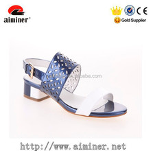 2015 new design fashion flat heel lady sandal shoe women shoes