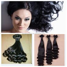 top quality wavy hair brazilian virgin hair weaving for black woman