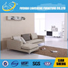 European Country Style Fabric Sofa, Three seat Sofa set with wooden legs, L-shaped