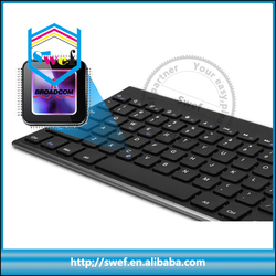 Shenzhen keyboard 78 keys bluetooth wireless keyboard for ipad