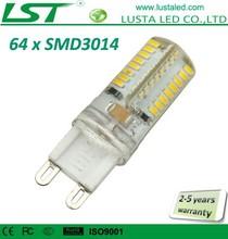 Small Size Mini G9 LED Light Bulbs 220V 230V 110V 120V 6000K 4000K 3000K 64 SMD 3014 LED Lamp G9
