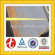 orange painted steel plate