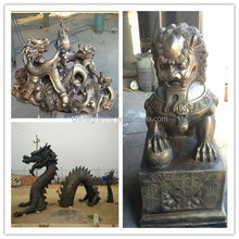 casting bronze art statue