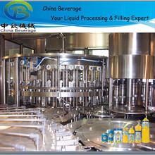automatic apple juice 3 in 1 filling machine/ processing plant
