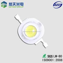 Bridgelux 45mil Chip 9000-15000k Shenzhen led factory 140-150lm High power diode led 1w/watt led