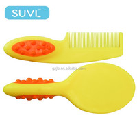 ecofriendly baby hair accessories brush and comb sets plastic hair comb