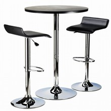 Stainless Steel bar high table and chair