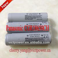 li-ion rechargeable battery CGR18650CH Panasonic 2250mah 3.7v panasonic 18650 batteries