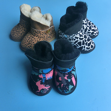 Wholesale Top Quality Women Warm Sheepskin Snow Boots
