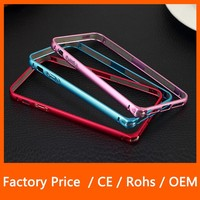 New Arrival Luxury Ultra Thin Metal Aluminum Alloy Bumper Frame Case for iPhone 5 5S