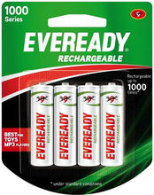 Eveready Ultima 1000 Series AA NIMH (4 Pcs) Rechargeable Battery