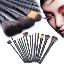 15Pcs Professional Cosmetic Make Up brush Set with Bag Case SV007043