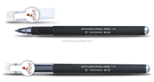 New Arrival New Design Blue & Black Pen Barrel Round Clip Pen /Customized Mould Shenzhen Factory Direct Sale/Gel ink pen