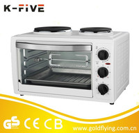 KMO38HG-AA 38L with 2 hotplates home appliances electric baking oven price