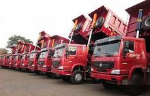 SINO HOWO 6X4 371HP 25ton and 18cbm loading capacity Dump Truck For Sale