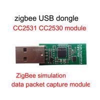 zigbee USB dongle CC2531 CC2530 PCB board module for wireless keyboard and mouse