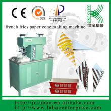 advanced paper fries cone machine, semi auto machine for paper package