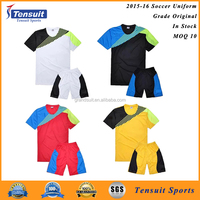 Promotional blank football uniforms accepted with name logo printed