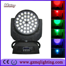 china supplier led stage lighting euipment zoom 36 pcs moving head light 5/6 in 1