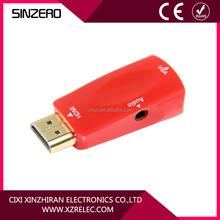 HOT Selling HDMI to VGA Video/Audio Adapter at 1080P