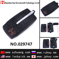 free shipping 4 button remote key cover/case/shell/casing for car key Lincn 20g/029747