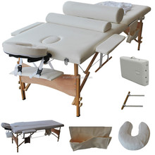 2015Hot sales 2 section wooden fixed massage table