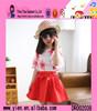 2015 Fashion One Piece Korean Style Princess Dress High Quality Printed Cheaper Princess Frock Design Dress