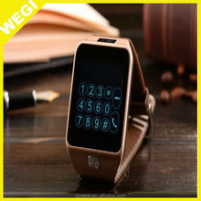 2015 Smart Watch v8 Waterproof Sync Call SMS Facebook Pedometer Sleep Monitor Camera MP3 MP4 Player Anti lost For IPhone Android
