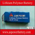 656699 7S3P 25.9V batería del li-polímero 15Ah