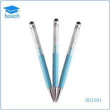 Small gift items crystal pen promotional customized pen